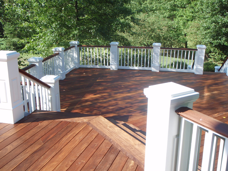 outdoor decks multi-level layered deck patio backyard remodeling contractor construction trustworthy charlotte nc